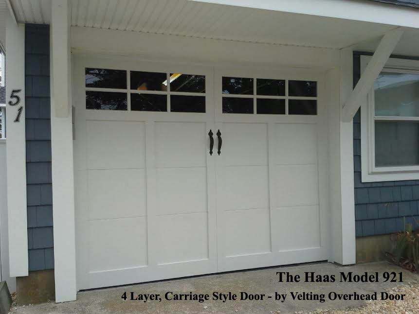 Custom Garage Door Haas 900 Series Carriage House