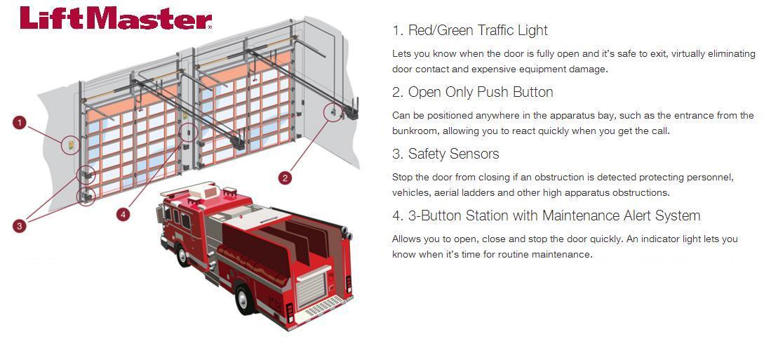 Firehouse Garage Door Opener Fire Station Garage Openers