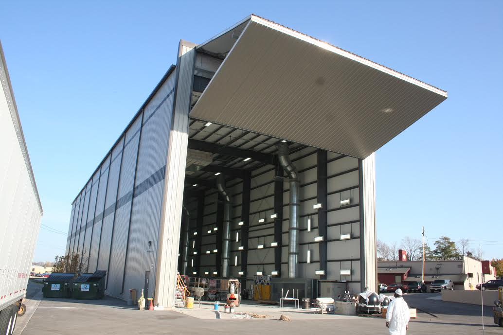 airport hangar door repair