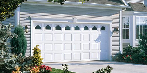 Dent Proof Garage Door Vinyl Garage Door Model 8700